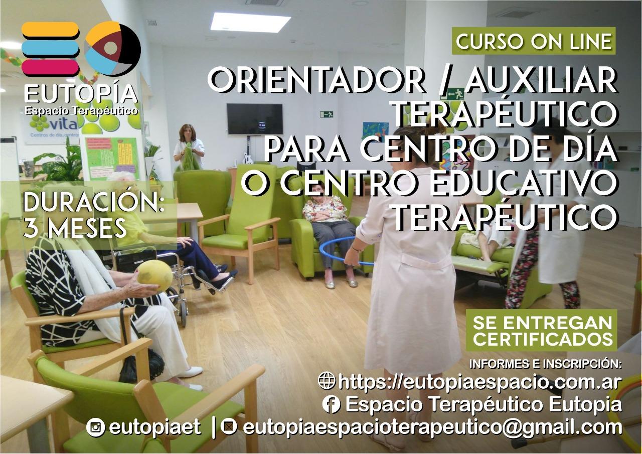 Orientador / Auxiliar para Centro de Día o Centro Educativo Terapéutico