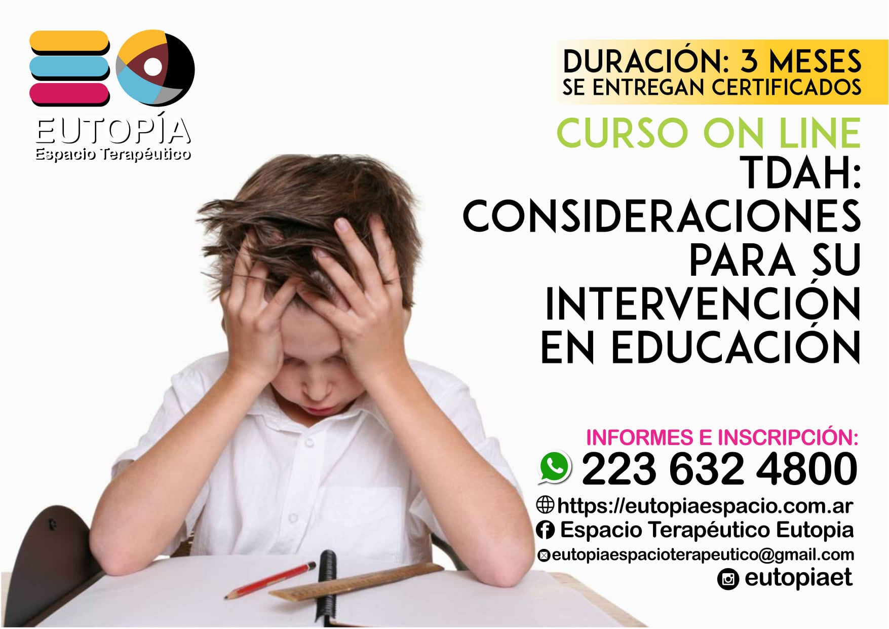 TDAH: Consideraciones para la intervención educativa